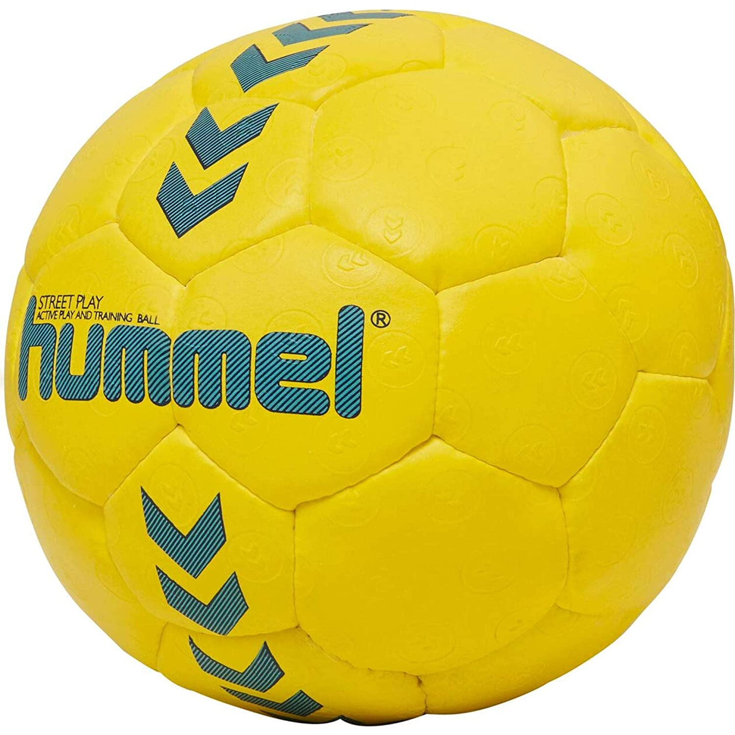 Hummel HMLSTREET Play Ball, Unisex niños, Amarillo Safety/Azul ...