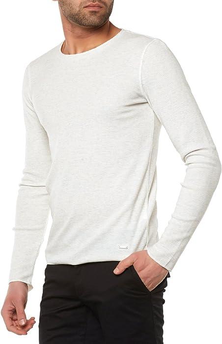24b438d723a BOSS Orange - T-Shirt Manches Longues - Manches Longues Homme ...