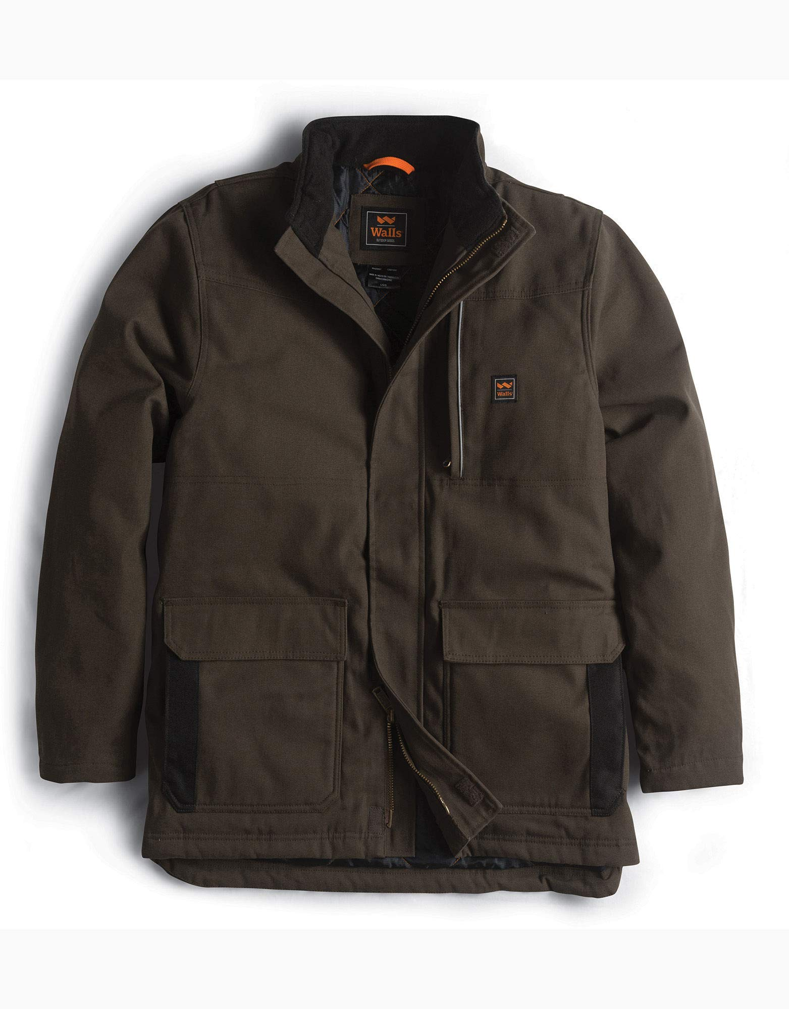 Walls Men's Super Duck Insulated Coat, bark Brown, Extra Large by Walls