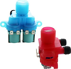 Kitchen Basics 101: W10240949 & W10240948 Water Inlet Valve Compatible with Whirlpool 33390068G
