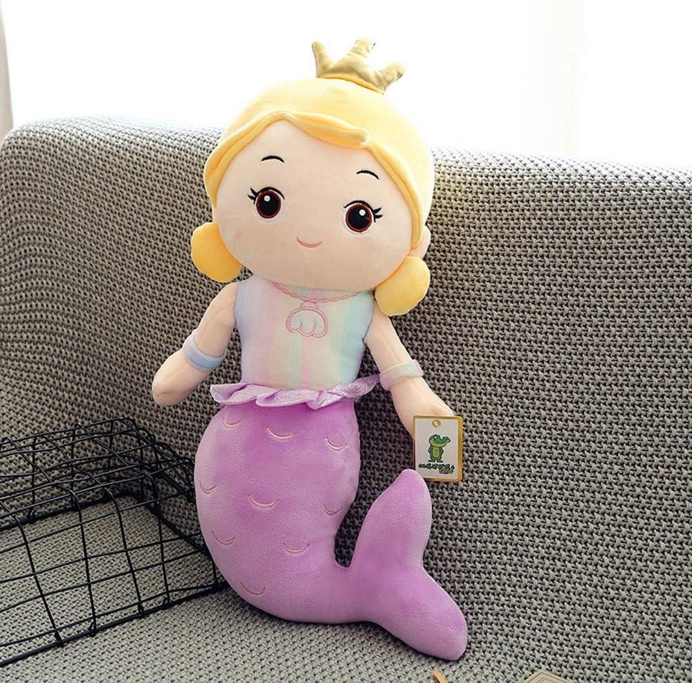 Naiyn Sirena muñeca de la Princesa de Habitaciones Almohada for niños y niñas Decoración del hogar Acentos Juguete de la Felpa muñeca de Trapo Los Animales de Peluch