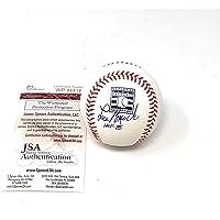 $150 » Lou Brock St Louis Cardinals Signed Autograph Official MLB Baseball HOF INSCRIBED JSA Witnessed COA