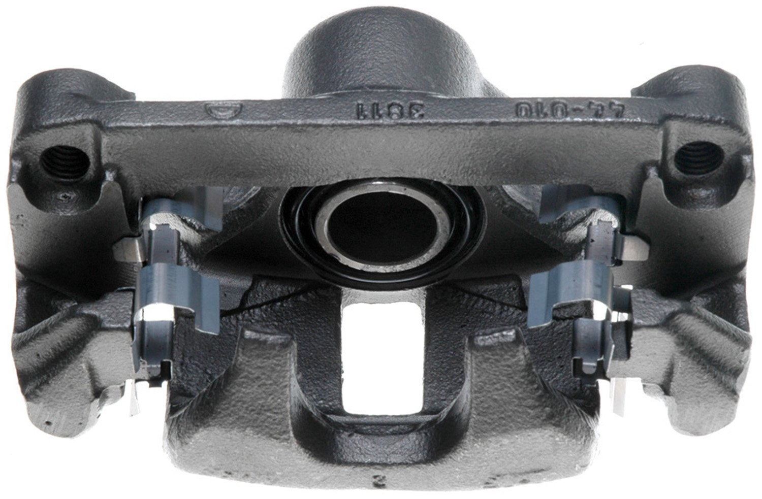 Friction Ready Non-Coated ACDelco 18FR1771 Professional Rear Passenger Side Disc Brake Caliper Assembly without Pads Remanufactured