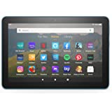 "Fire HD 8 tablet, 8"" HD display, 64 GB, designed for portable entertainment, Twilight Blue"