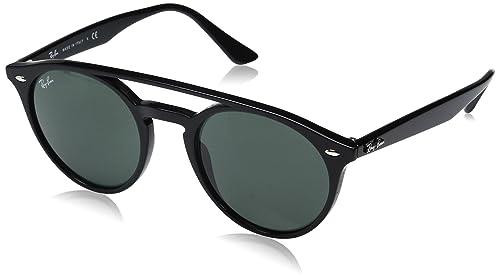 Ray-Ban 0Rb4279, Gafas de Sol Unisex-Adulto, Black, 52