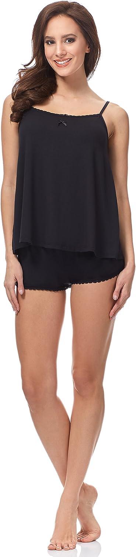 Italian Fashion IF Pijama Camiseta y Pantalones Mujer 91D19 0226
