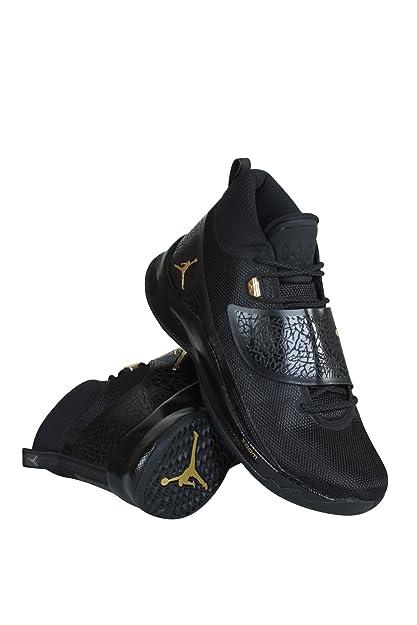 187204b63fbd Nike Men's Jordan Super.Fly 5 PO MetalicGold-Blk-Anthracte Basketball Shoes-