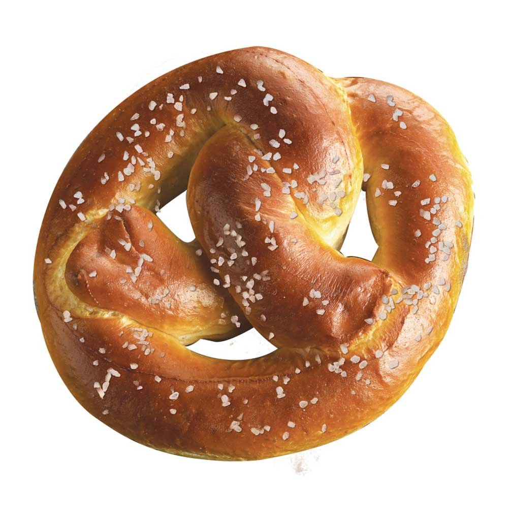 Super Pretzel Bavarian Soft Pretzel, 3.2 Ounce -- 64 per case.