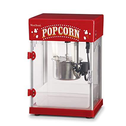 amazon com: west bend 2 5 ounce theater popcorn popper (discontinued by  manufacturer): electric popcorn poppers: kitchen & dining