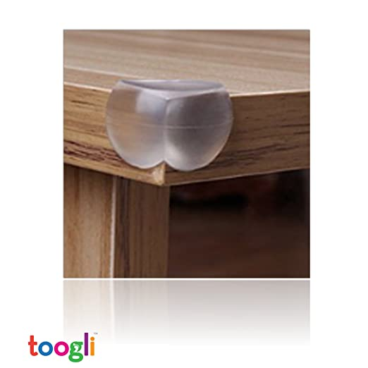 Amazon.com : Ultimate Soft Corner Furniture / Coffee Table Guard Bumpers  (12 Pack) By Toogli. Includes 3M Adhesive U0026 FREE Set Of 8 Electrical Outlet  Plug ...