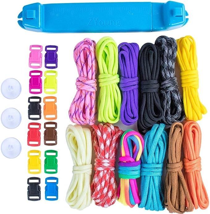 6pcs DIY Paracord Bracelet Weaving Needle Parachute Cord Knitting Needles