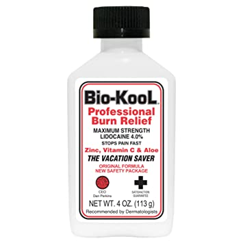 Amazon com : Bio-Kool Best Value 4% Lidocaine 4 Oz