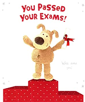 Boofle you passed your exams congratulations card official boofle boofle you passed your exams congratulations card official boofle greeting cards m4hsunfo