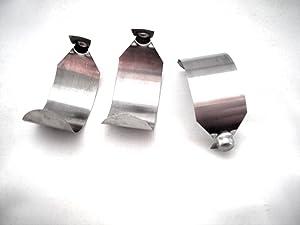Three (3) Rainbow vacuum c-clip push-button lock/springs for e-series wand/tube