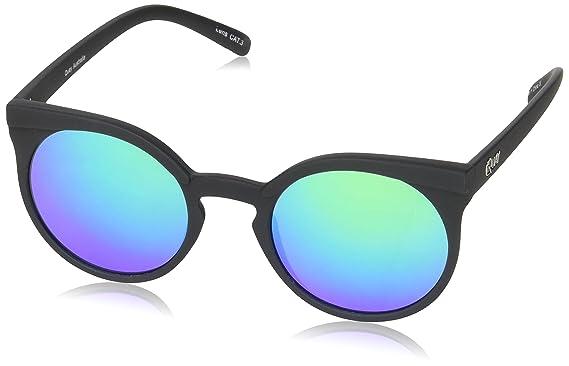 Quay Eyewear Damen Sonnenbrille Kosha, Schwarz (Blk/Grn), One size (Herstellergröße: Einheitsgröße)