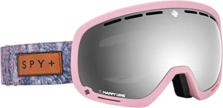 SPY Optic Marshall Snow Goggles Aviation Scoop Design Ski, Snowboard or Snowmobile Goggle Two Lenses with Patented Happy Lens Tech