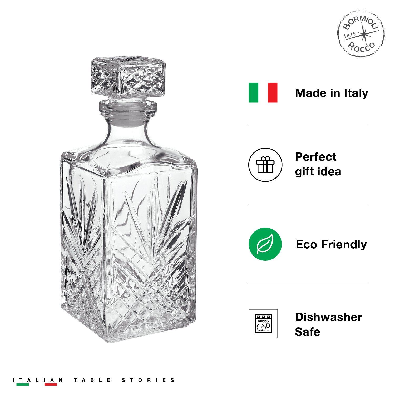 Bormioli Rocco Selecta 7-Piece Whiskey Gift Set, Frustration Free Packaging by Bormioli Rocco (Image #5)