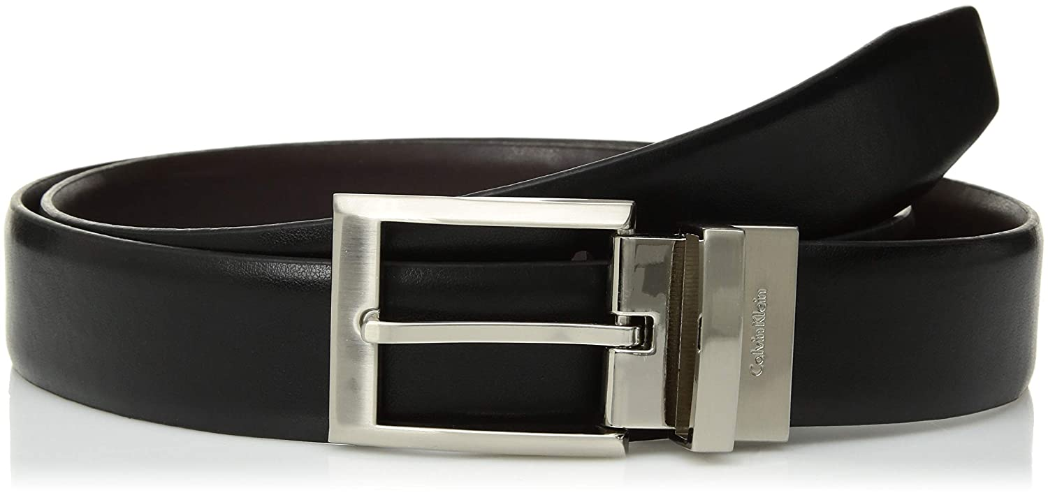 b4c275e7f6f Calvin Klein Men s Smooth Leather Reversible Belt at Amazon Men s Clothing  store  Apparel Belts