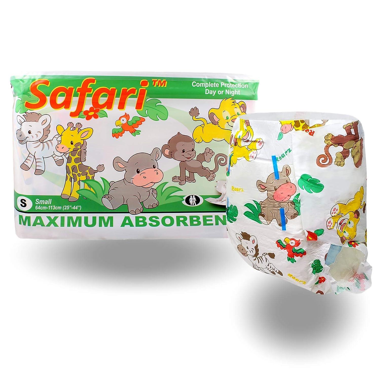 Safari 12 Pack Adult Diaper Rearz X-Large