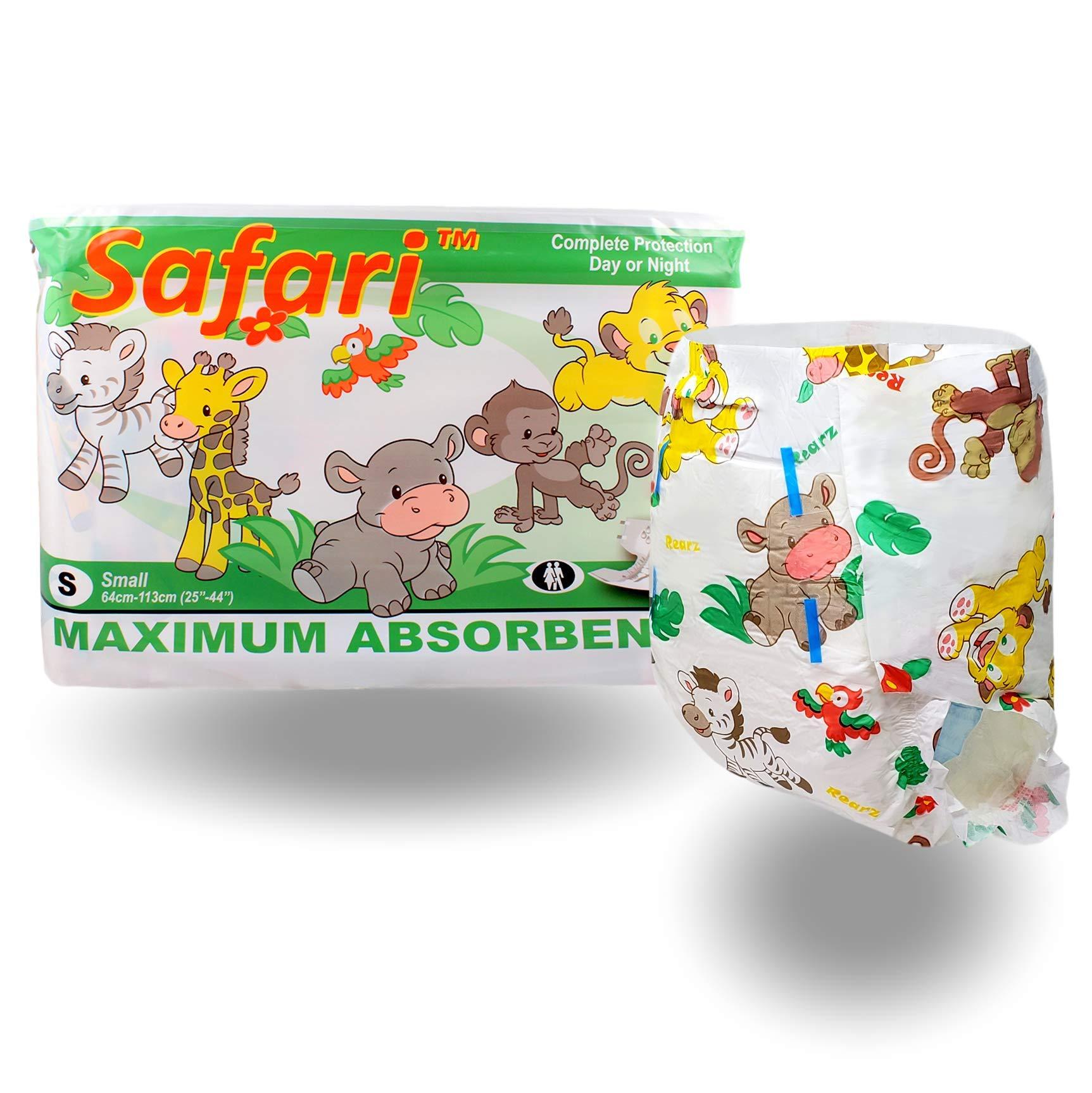 Rearz - Safari - Adult Diaper (12 Pack) (Large)