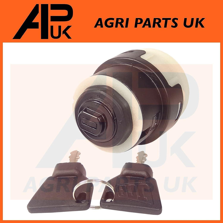 APUK JCB 3CX Ignition Switch Starter 2 Keys JCB Parts fits many Digger Plant 701/80185 Agri Parts UK Ltd