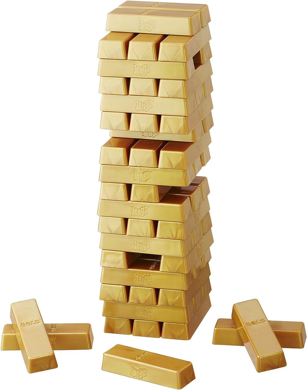 Juegos en Familia Hasbro - Juego de Habilidad Jenga Gold (B7430EU4): unbekannt: Amazon.es: Juguetes y juegos