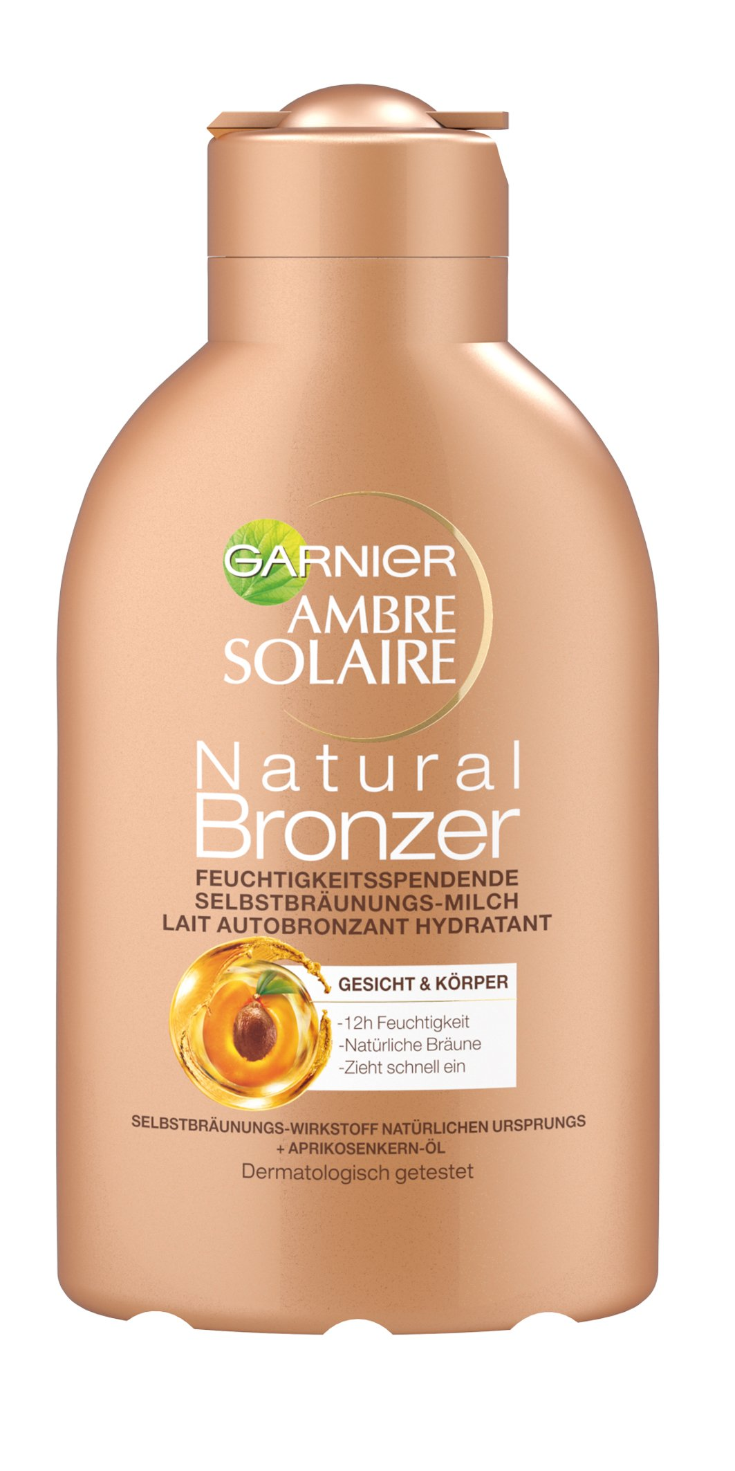 Garnier Ambre Solaire Self-Tanning Perfect Bronzer Milk