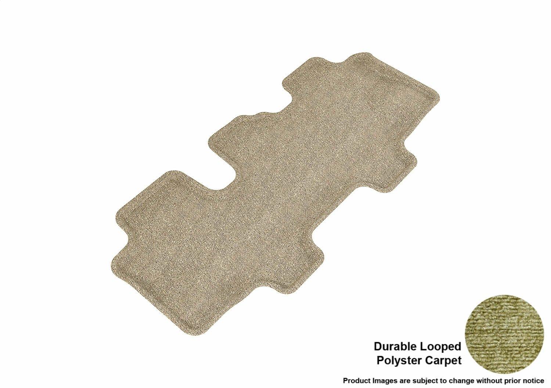 L1KA00912202 3D MAXpider Front Row Custom Fit Floor Mat for Select Kia Sorento Models Tan Classic Carpet