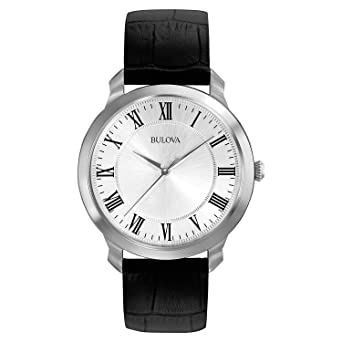 8a12e0fb3053 Image Unavailable. Image not available for. Color: Bulova Men's 96A133 Dress  Watch