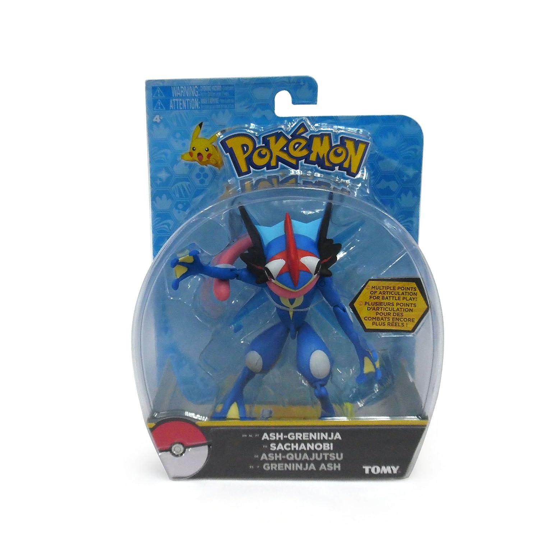 Amazon.com: Pokémon Action Figure, Ash-Greninja: Toys & Games