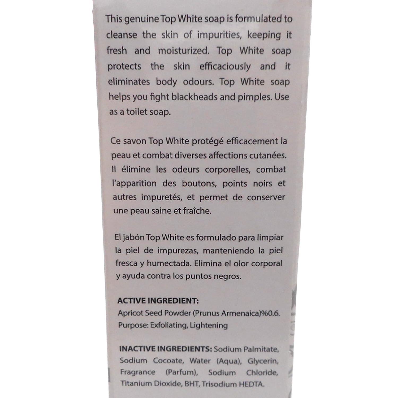 Amazon.com : Top White Lightening Exfoliating Soap (200G) : Facial Soaps : Beauty