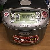 220-230V ZOJIRUSHI En dehors du Japon pour IH cuiseur /à riz NP-HLH10XA Sp/écifications