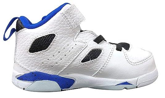 uk availability f0df1 06256 Amazon.com   Jordan Flight Club  91 White Hyper Royal-Black (Toddler)    Sneakers