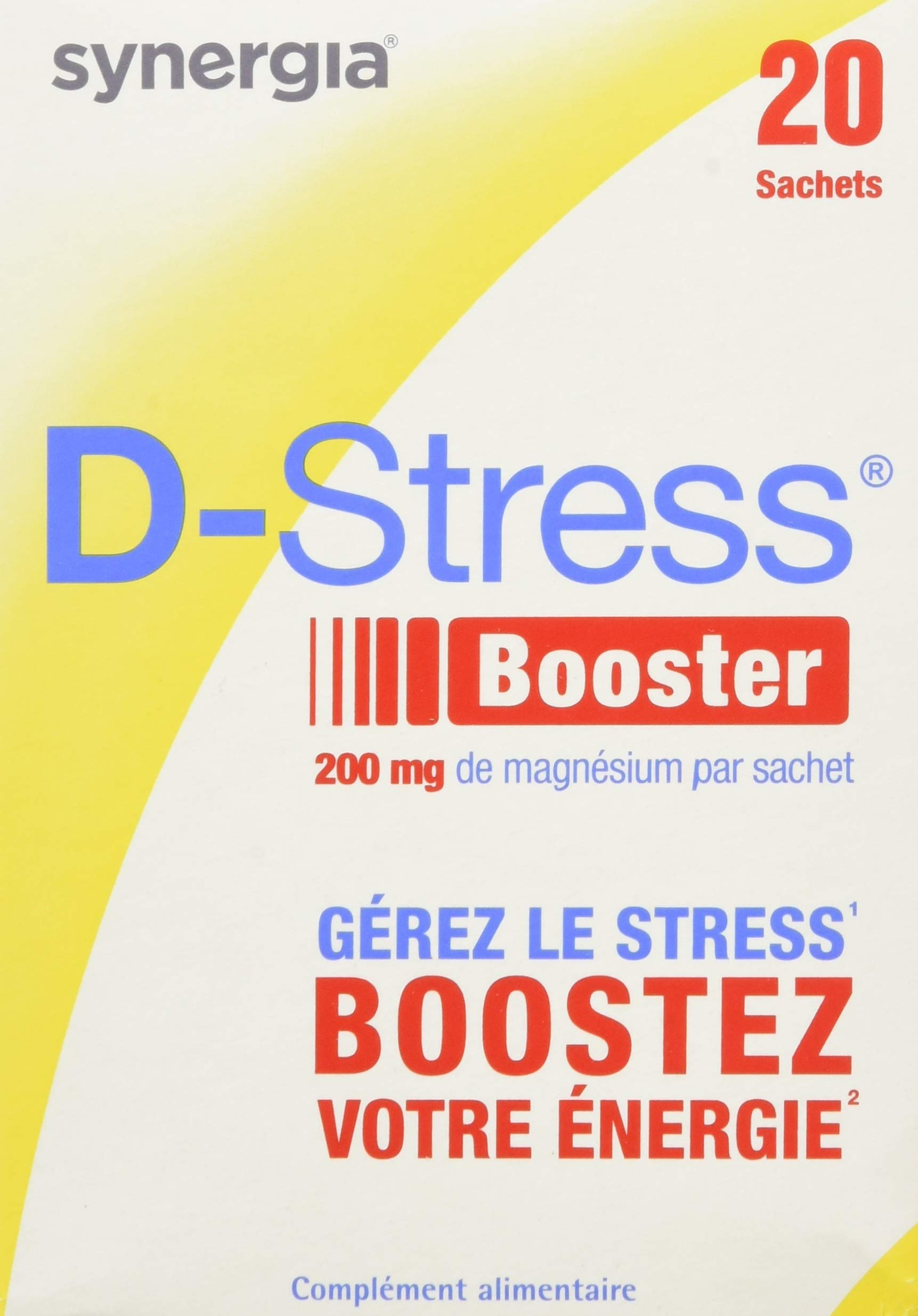 Synergia D-Stress Booster 20 Sachets by Synergia