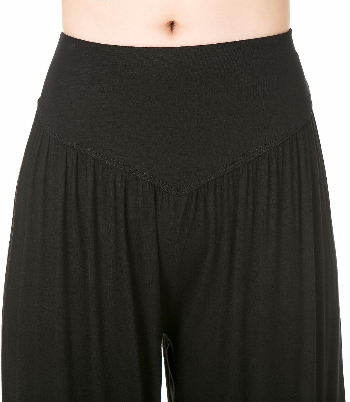 Lanmay Womens Elastic Soft Modal Cotton Yoga Sports Pants Dance Harem Pants
