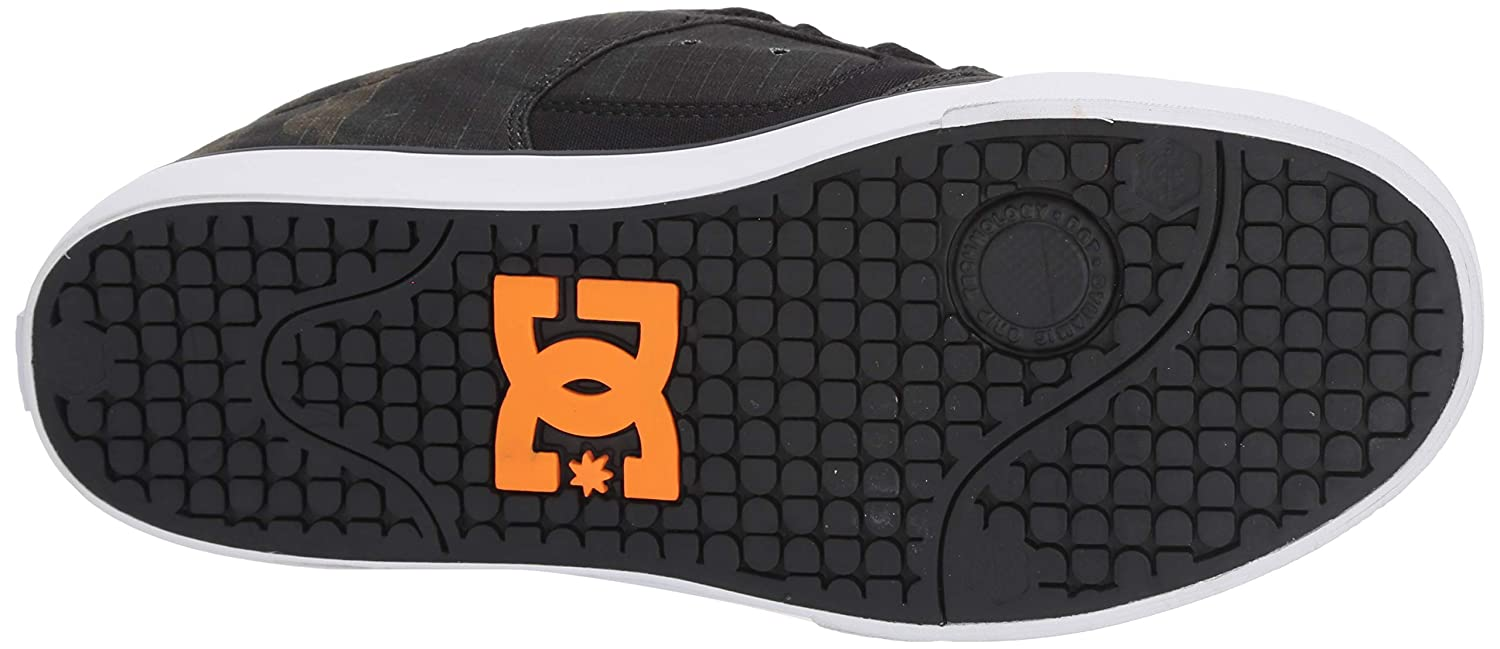 DC Mens Pure Tx Se Skate Shoe
