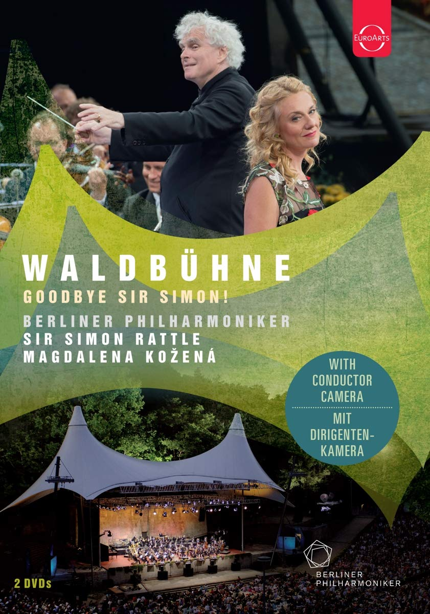DVD : BERLINER PHILHARMONIKER & SIR SIMON RATTLE - Waldbuhne 2018 - Goodbye Sir Simon (DVD)