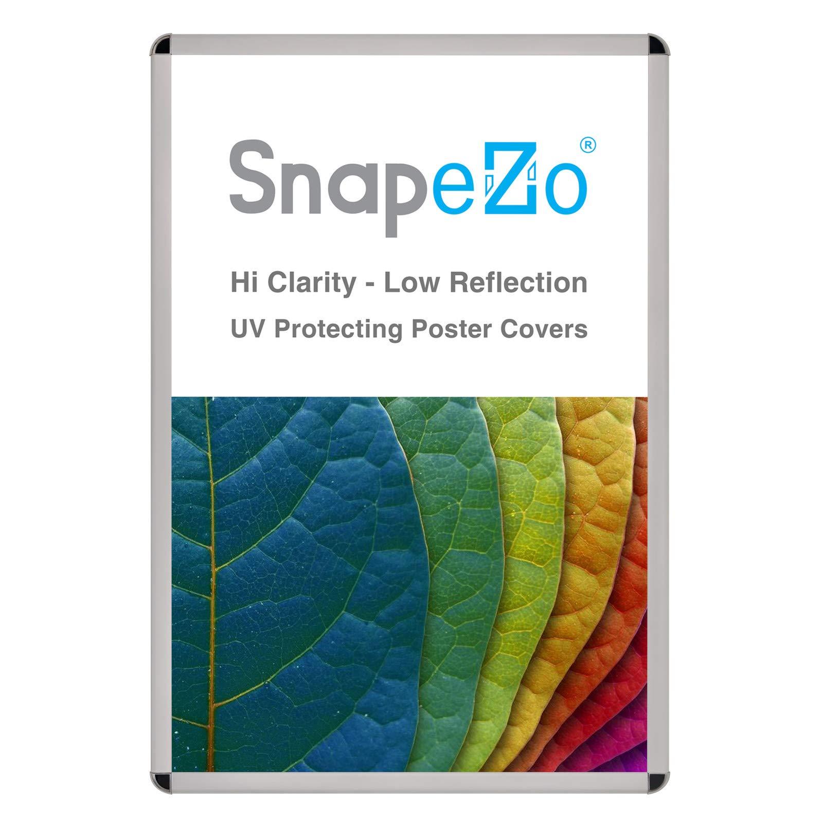 SnapeZo Silver Movie Poster Frame 27x40