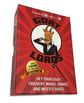 Gatwick Games LLC Goat Lords - Juego de cartas para adultos ...