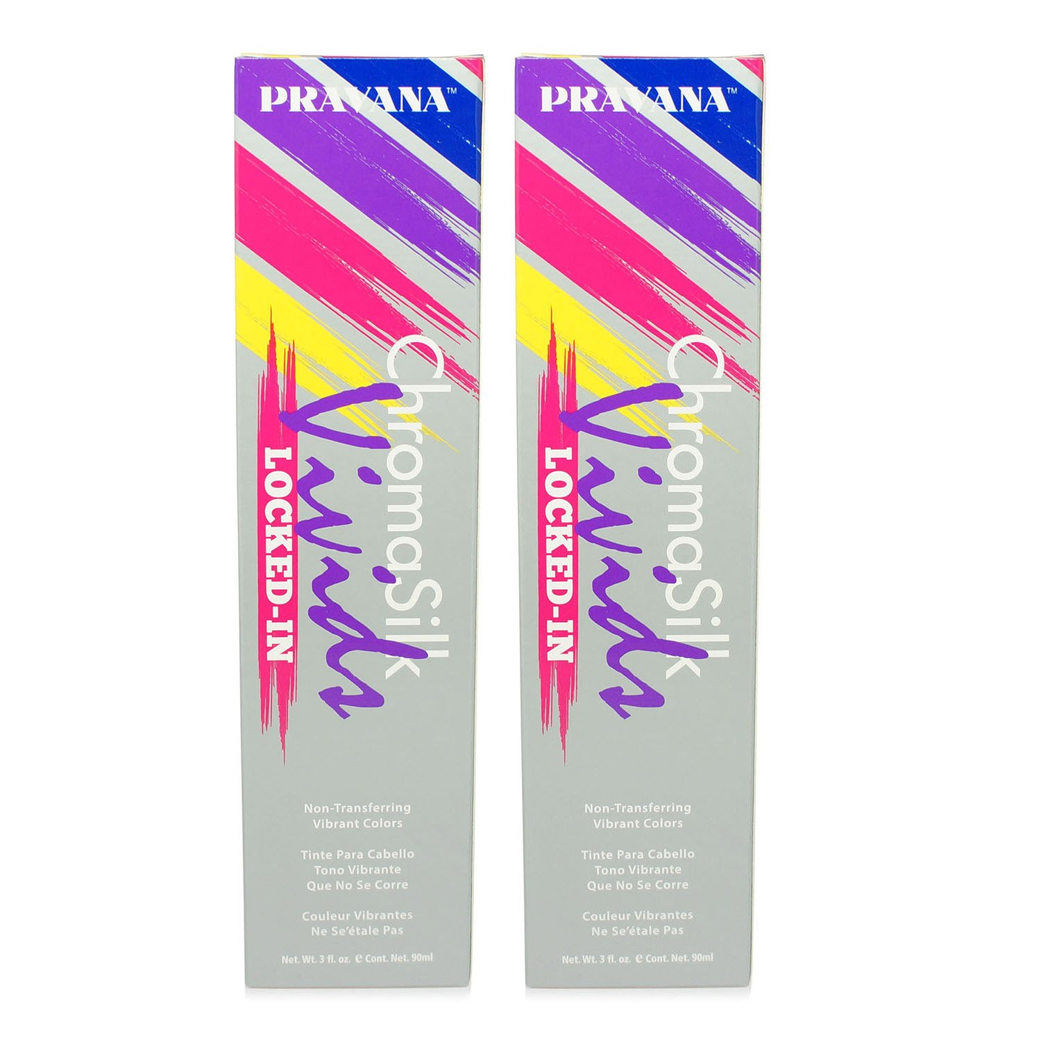 Pravana ChromaSilk Vivids (Locked in Blue), 3 Fl 0z - 2 Pack by Pravana (Image #4)