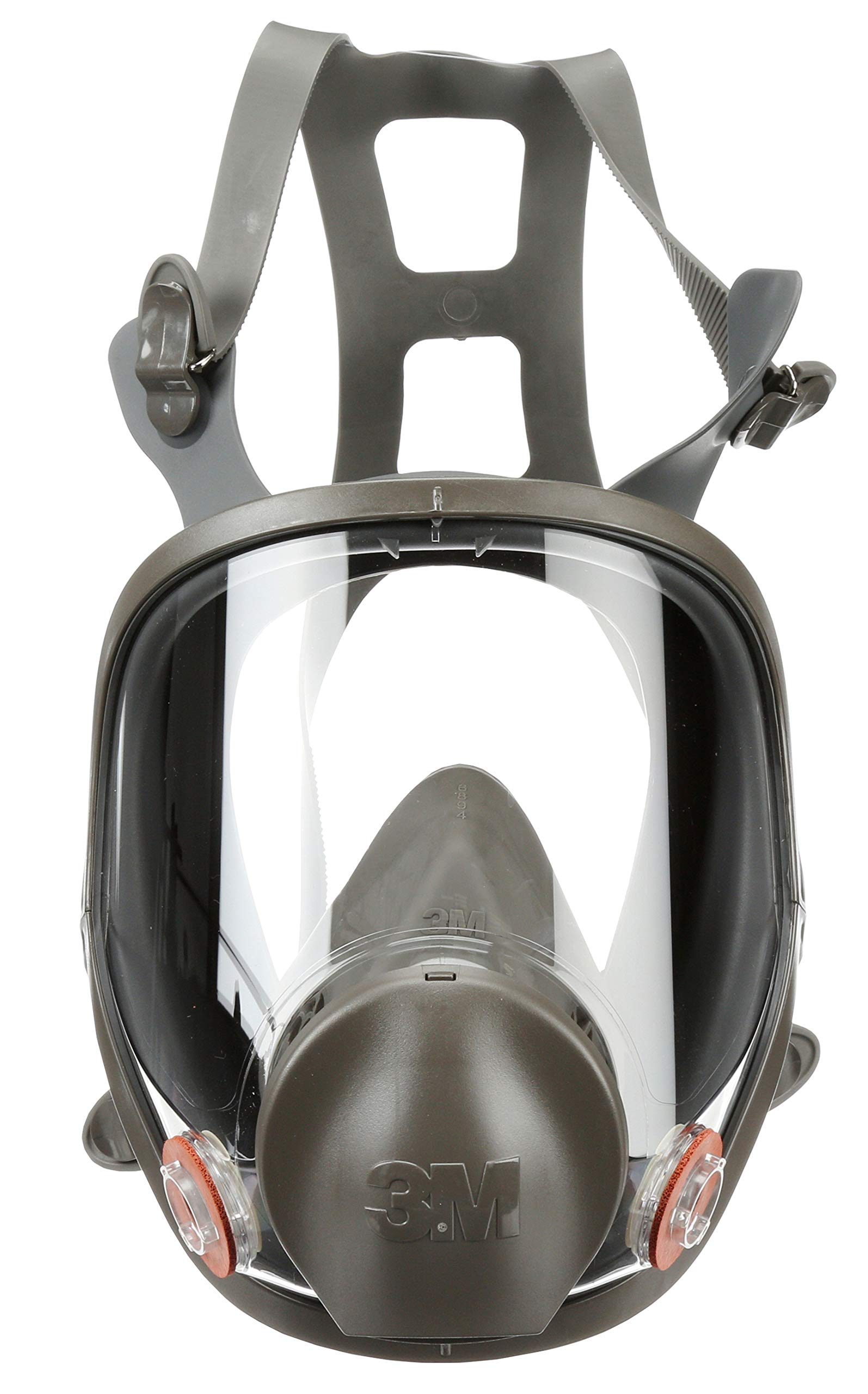 3M Full Facepiece Reusable Respirator 6800, Paint Vapors, Dust, Mold, Chemicals, Medium by 3M Personal Protective Equipment