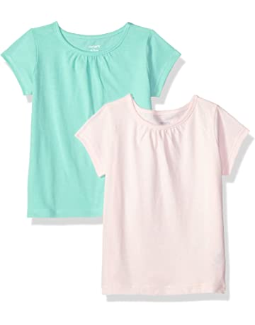 1b6400c0a Carter's Baby Girls' 2-Pack Tees