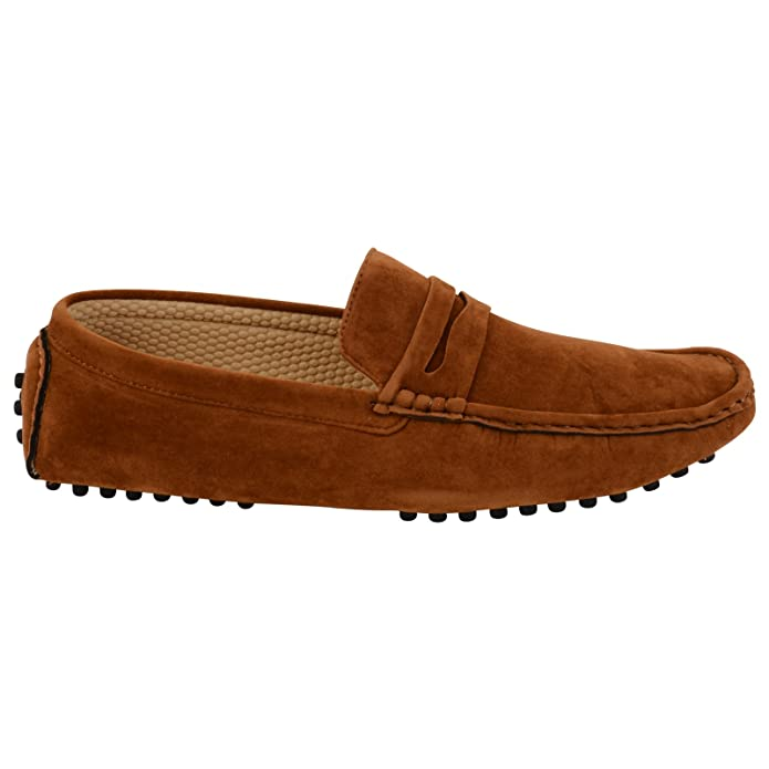 Cliquez Sur - Chaussures Mocassins En Daim Pour Les Hommes Camal M5rPz