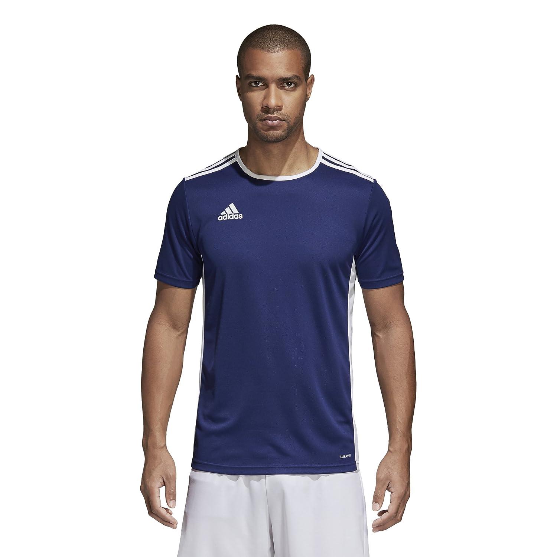 Adidas エントラーダ ジャージー メンズ サッカー 18 B071KHQHZ5 Large ダークブルー/ホワイト ダークブルー/ホワイト Large