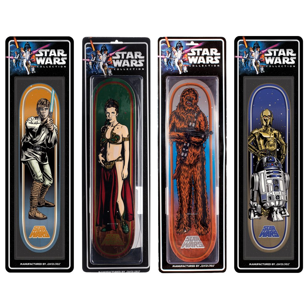 Santa Cruz de colección Star Wars Rebels patinete 4-Pack ...