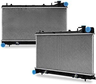 Amazon.com: CU2402 Radiator Replacement for forester Impreza H4 2.5L  1999-2002: Automotive