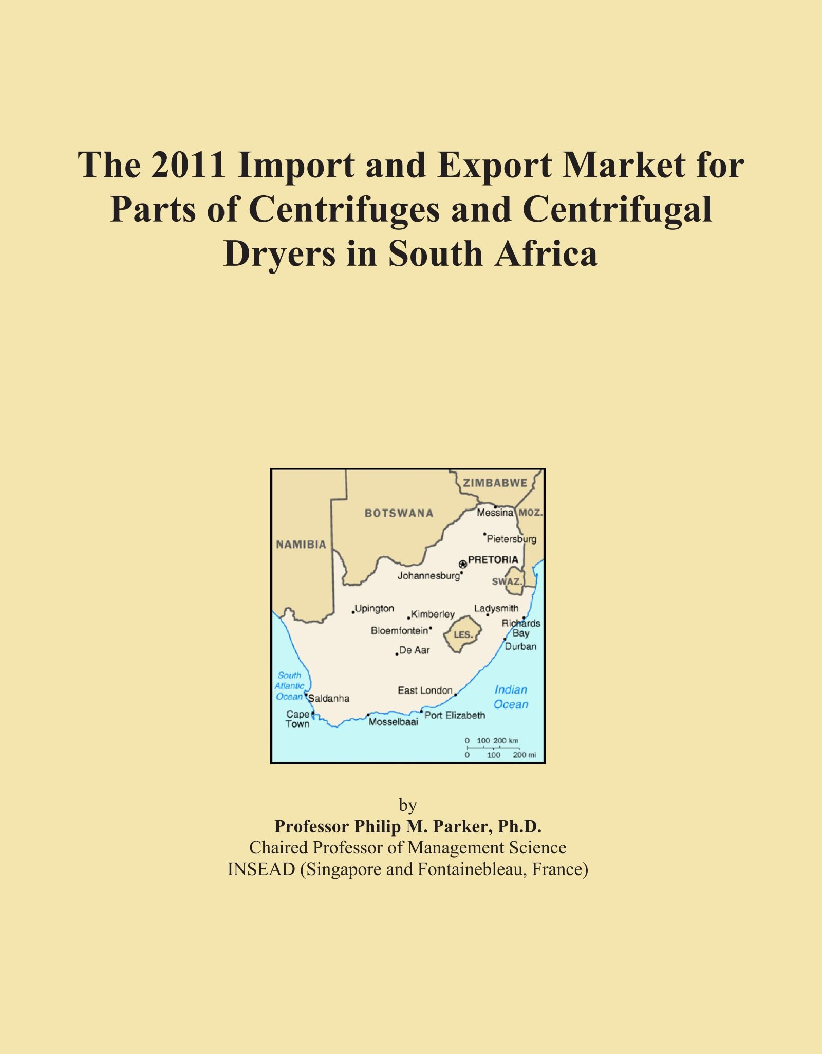 Download The 2011 Import and Export Market for Parts of Centrifuges and Centrifugal Dryers in South Africa pdf epub