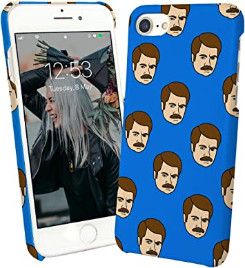 LumaCases Ron Swanson Funny Face Pattern_000171 Case For ...