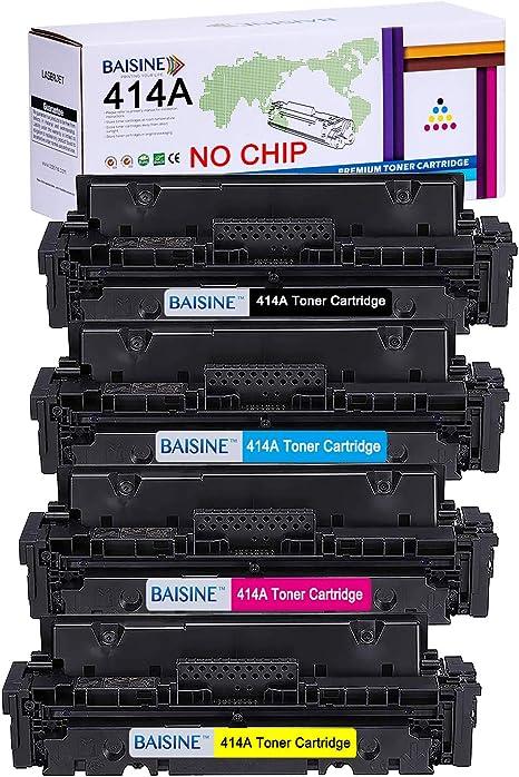 Amazon.com: BAISINE 414A - Cartucho de tóner compatible con ...