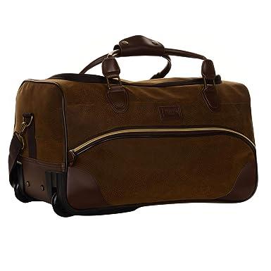 0f826d8b47 Kangol Unisex Chocolate Wheelie Holdall  Amazon.co.uk  Clothing